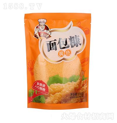 王老胖 黄色面包糠 200克