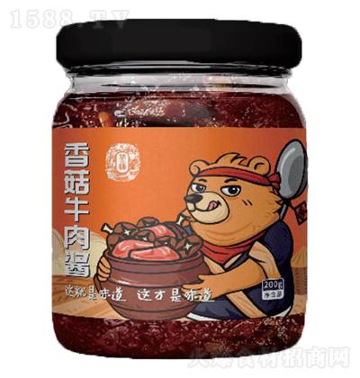 华畅 香菇牛肉酱 200g