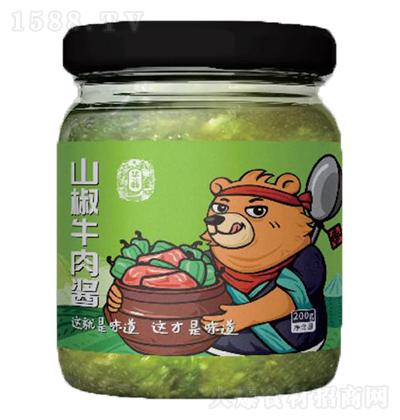 华畅 山椒牛肉酱 200g