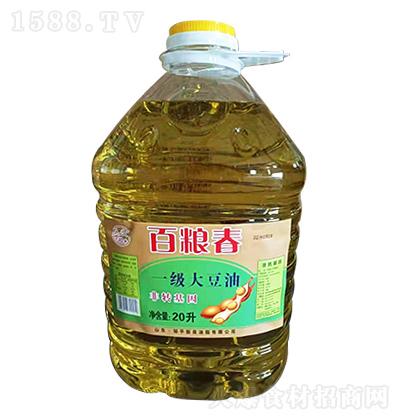 百粮春 一级大豆油 20升