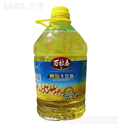 百粮春 黄金大豆油 10L