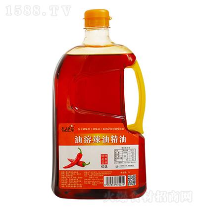 裴氏厨房 油溶辣油精油 1L