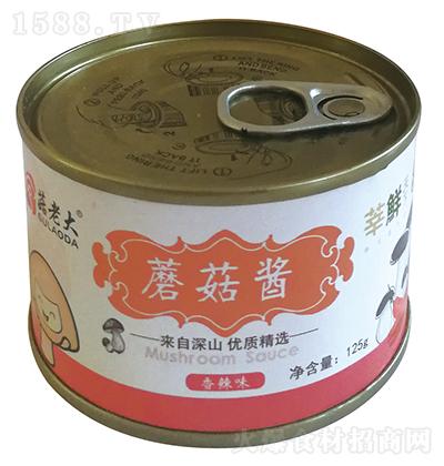 菇老大 磨菇酱(香辣味) 125g