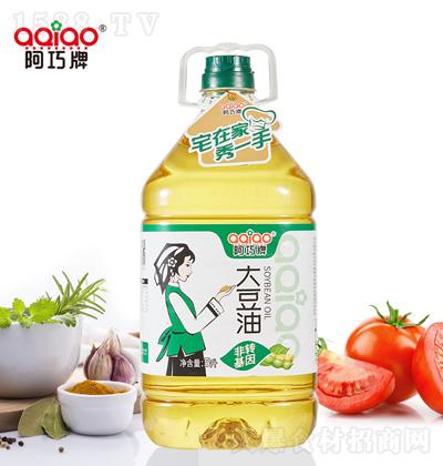 阿巧 大豆油 5升