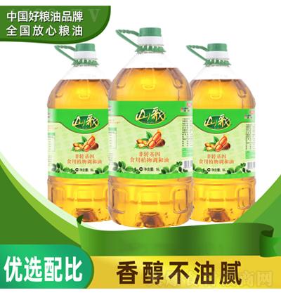 山歌 食用植物调和油 5升