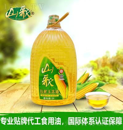 山歌 压榨玉米油-5升