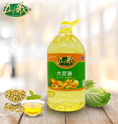 山歌 大豆油-5升
