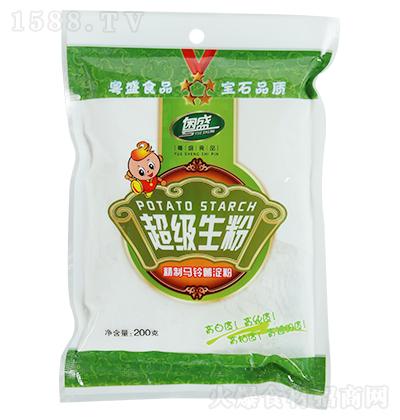 粤盛 超级生粉(精制马铃薯淀粉) 200克