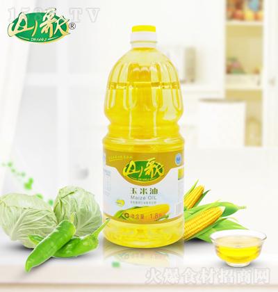 山歌 玉米油 1.8升