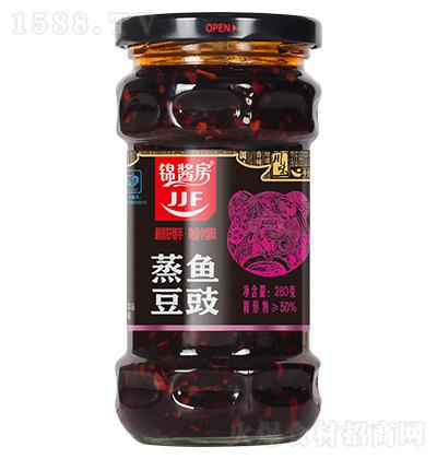 锦酱房 蒸鱼豆豉 280克