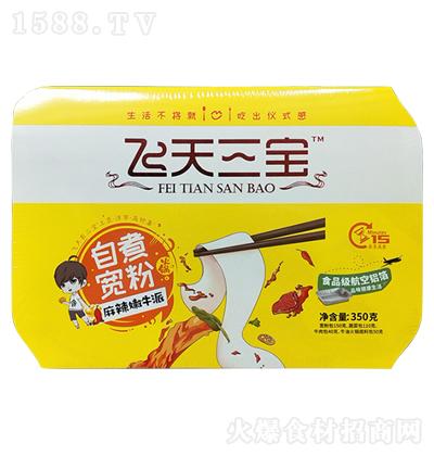 飞天三宝 嫩牛自热火锅 350克