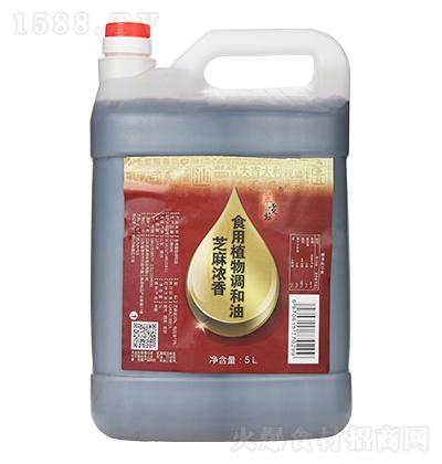 萃贡坊 芝麻浓香 食用植物调和油 5L