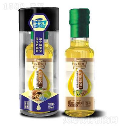 倍智慧 均衡三合一(核桃油+亚麻籽油+橄榄油) 100ml