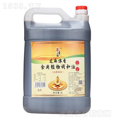 萃贡坊 芝麻浓香食用植物调和油 5L
