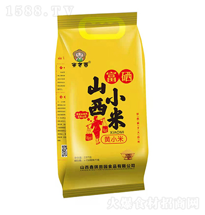 米老西 山西小米 黄小米 2.5千克