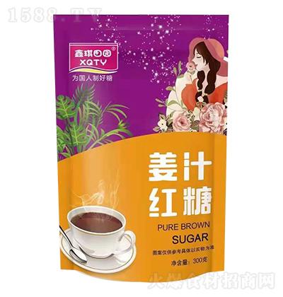 鑫琪田园 姜汁红糖 300克