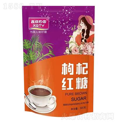 鑫琪田园 枸杞红糖 300克