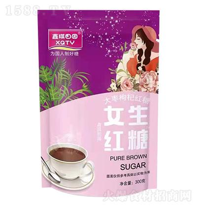鑫琪田园 女生红糖 300克