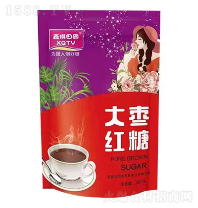 鑫琪田园 大枣红糖 300克