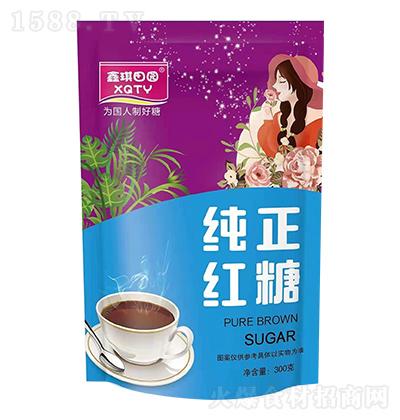 鑫琪田园 纯正红糖 300克