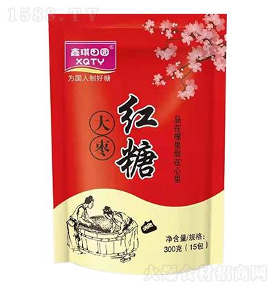 鑫琪田园 大枣红糖 300克(15包)