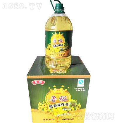 鲁裕 清香菜籽油 5L