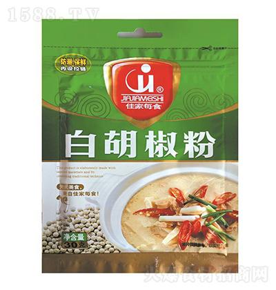 佳家每食  白胡椒粉 30克