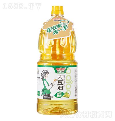 阿巧牌 大豆油 1.8升