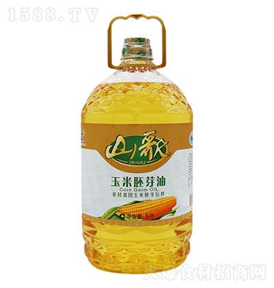 山歌 玉米胚芽油  5升