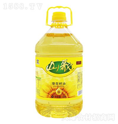 山歌 葵花籽油  4升