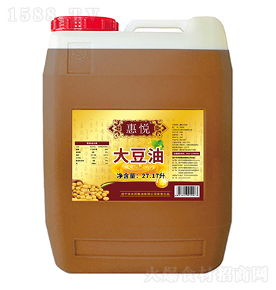惠悦 大豆油 27.17L