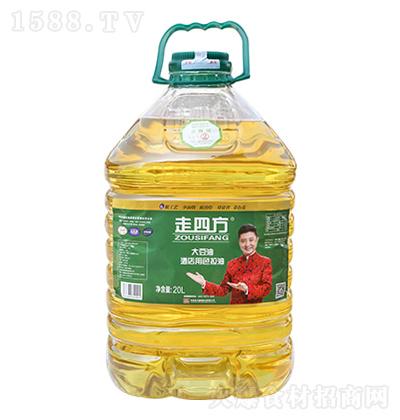 走四方 大豆油(酒店用色拉油) 20L
