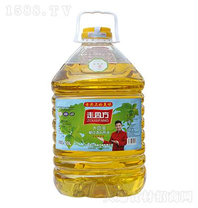 走四方 大豆油(星级酒店用油) 20L