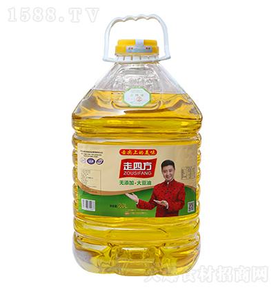 走四方 大豆油 20L