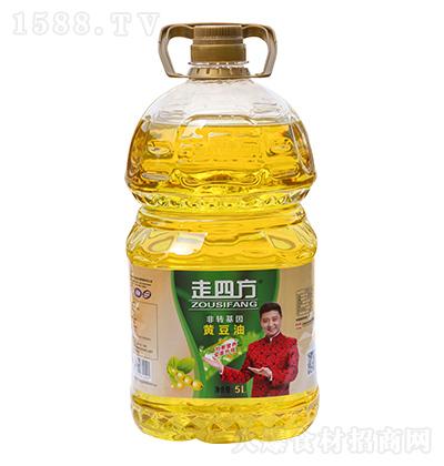 走四方 黄豆油  5L