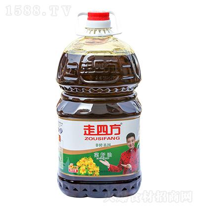 走四方 菜籽油 5升
