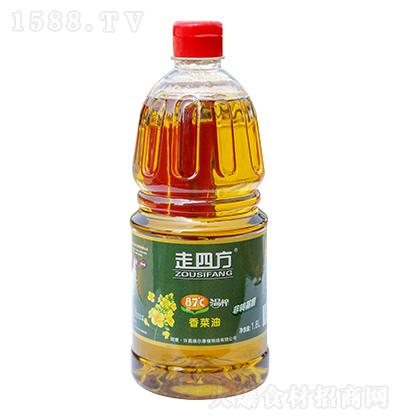 走四方 87度温榨香菜油 1.8L