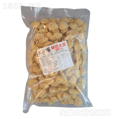 芙蓉嘴 锅巴土豆 1kg