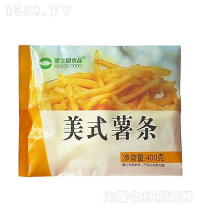 惠之园 美式薯条 400克
