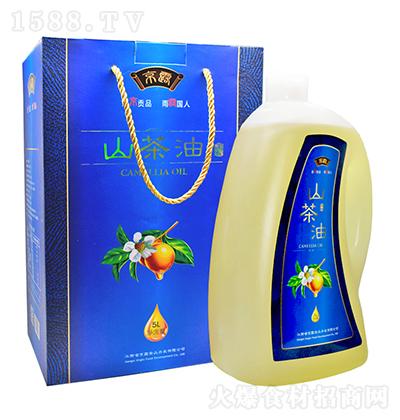 京露 压榨山茶油 5L