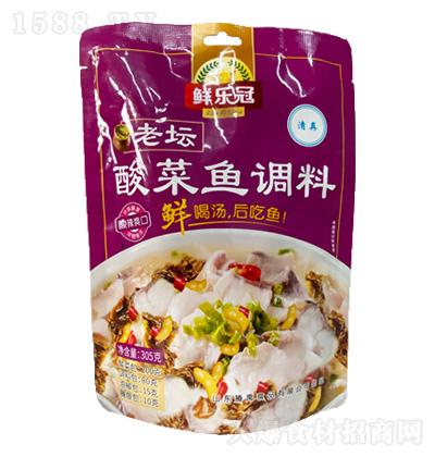 鲜乐冠 老坛酸菜鱼调料 305克