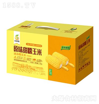 陆路雪 原味甜糯玉米 2.56kg