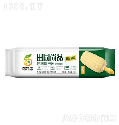 陆路雪 田园尚品速冻糯玉米 180g