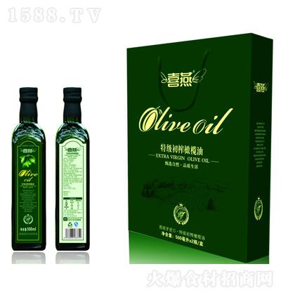 喜燕 特级初榨橄榄油 500mlx2瓶