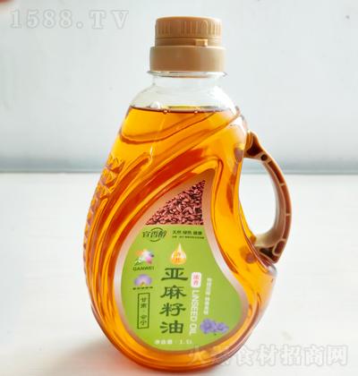 宜香醇 冷榨亚麻籽油 1.5L