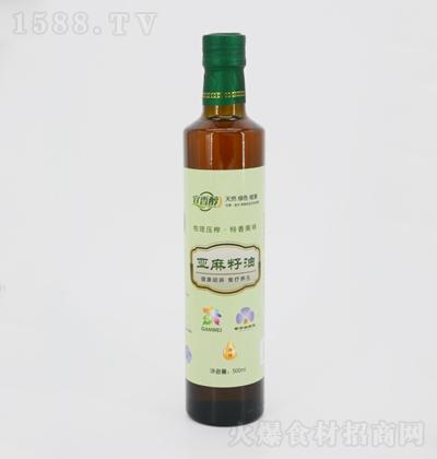 宜香醇  冷榨亚麻籽油 500ml
