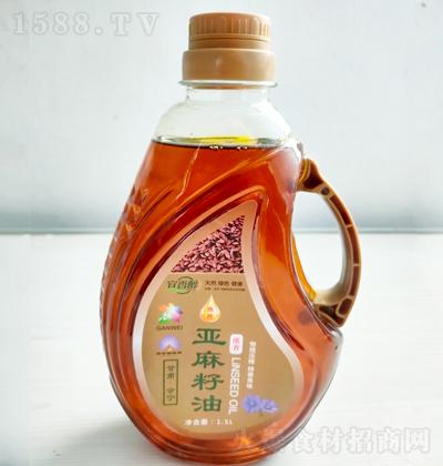 宜香醇  热榨亚麻籽油 1.5L