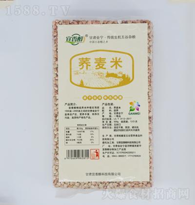 宜香醇  荞麦米 500g