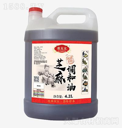 张太太 芝麻调和油 4.2L
