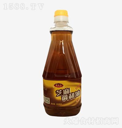 张太太 芝麻调和油 900ml